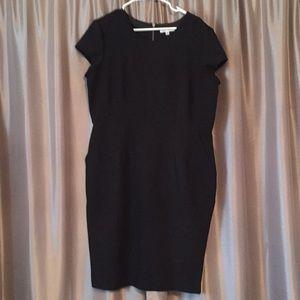 Black Downeast body con dress